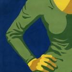 γυνή portrait gouache femme josselin limon duparcmeur