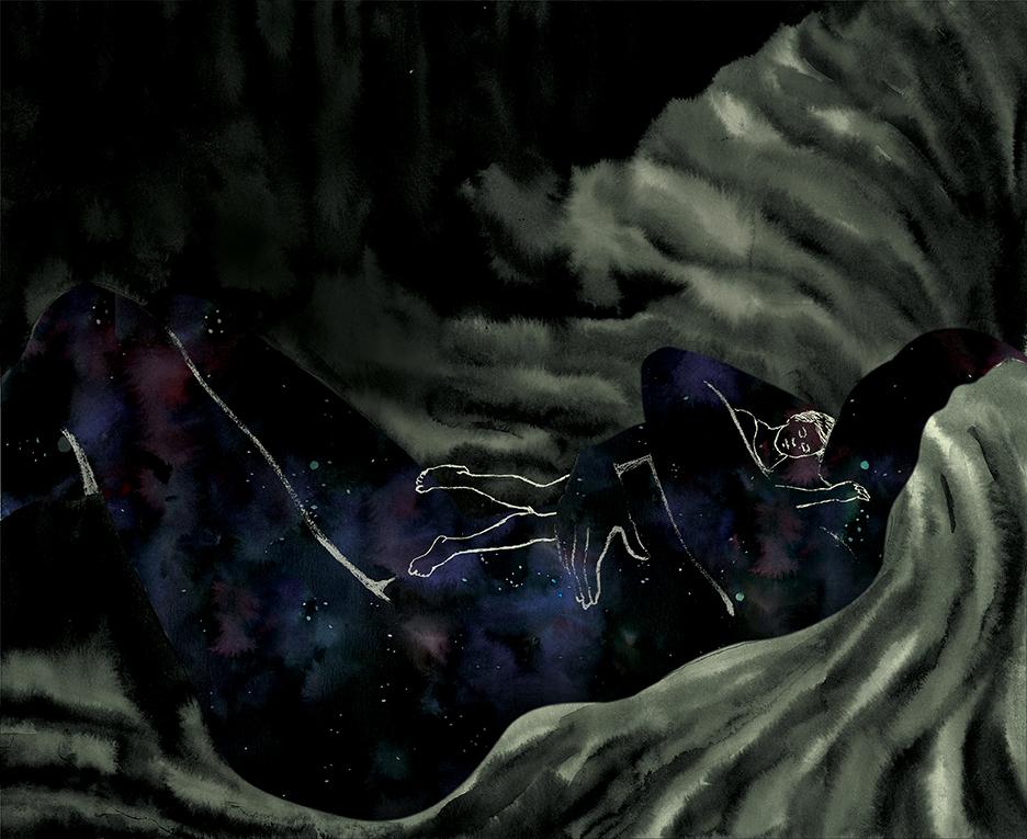 livre illustration nuit sommeil trouble
