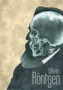 portrait affiche wilhelm rontgen josselin limon duparcmeur