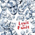 portrait affiche louis de funes cinema francais acteur josselin limon duparcmeur