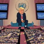 donald trump onu usa america great again usa bilan dessin presse